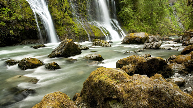 Amazing Nature Waterfalls Photography