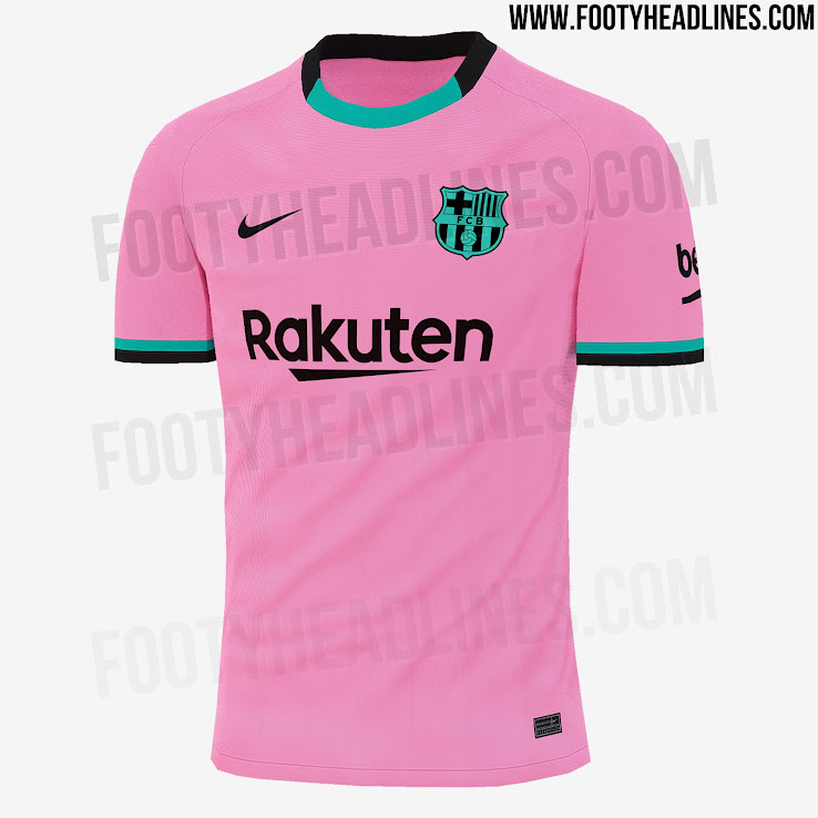 Fc Barcelona 20 21 Home Away Third Fourth Kits Leaked Footy Headlines