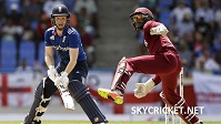 England v West Indies ODI Series Live Broadcast
