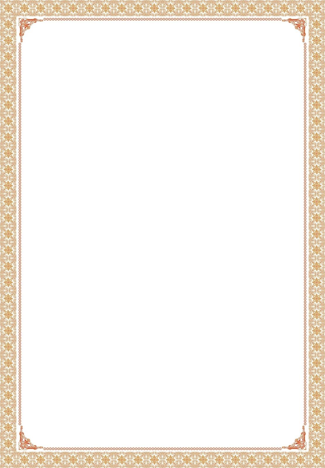Primbon donit Download Bingkai Sertifikat dan Piagam Clasic
