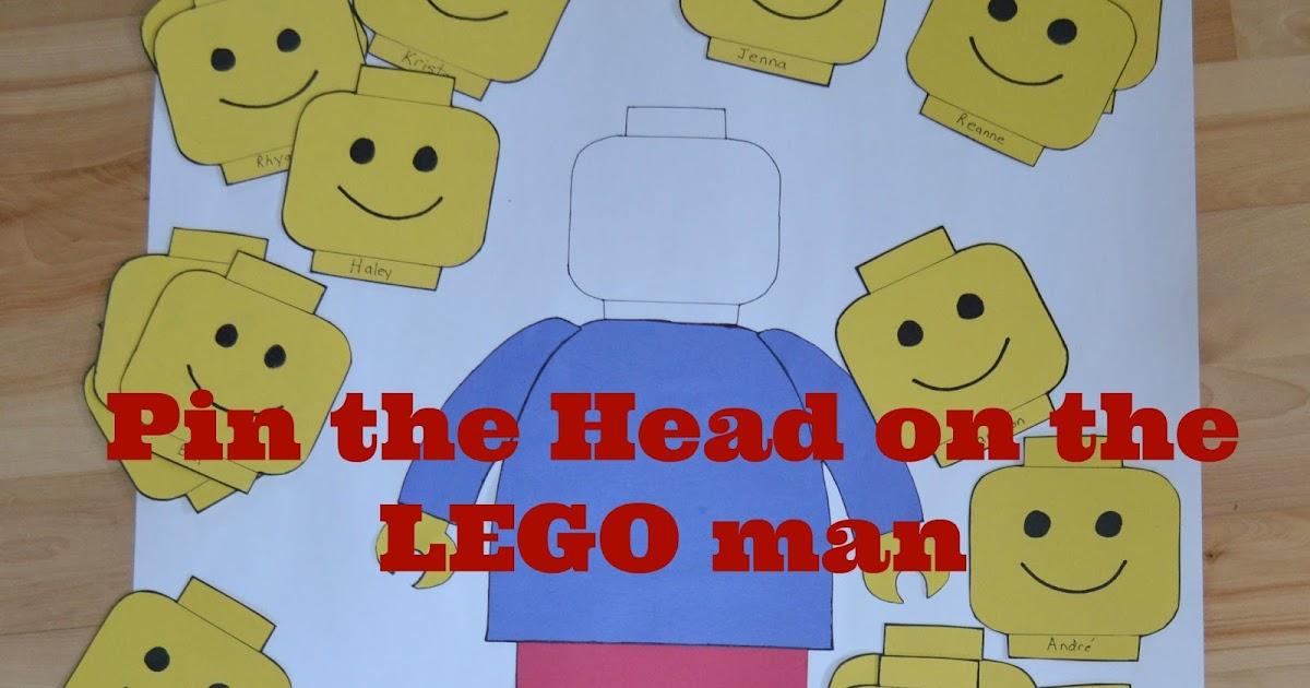 image relating to Lego Head Printable called East Coastline Mommy: Pin the Intellect upon the LEGO Male with no cost