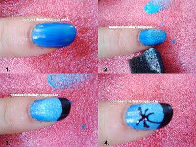 Sponge Nail Art