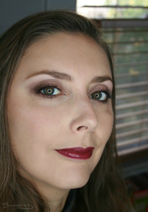 wearing prune avenue 54 fotd motd full face lip swatch
