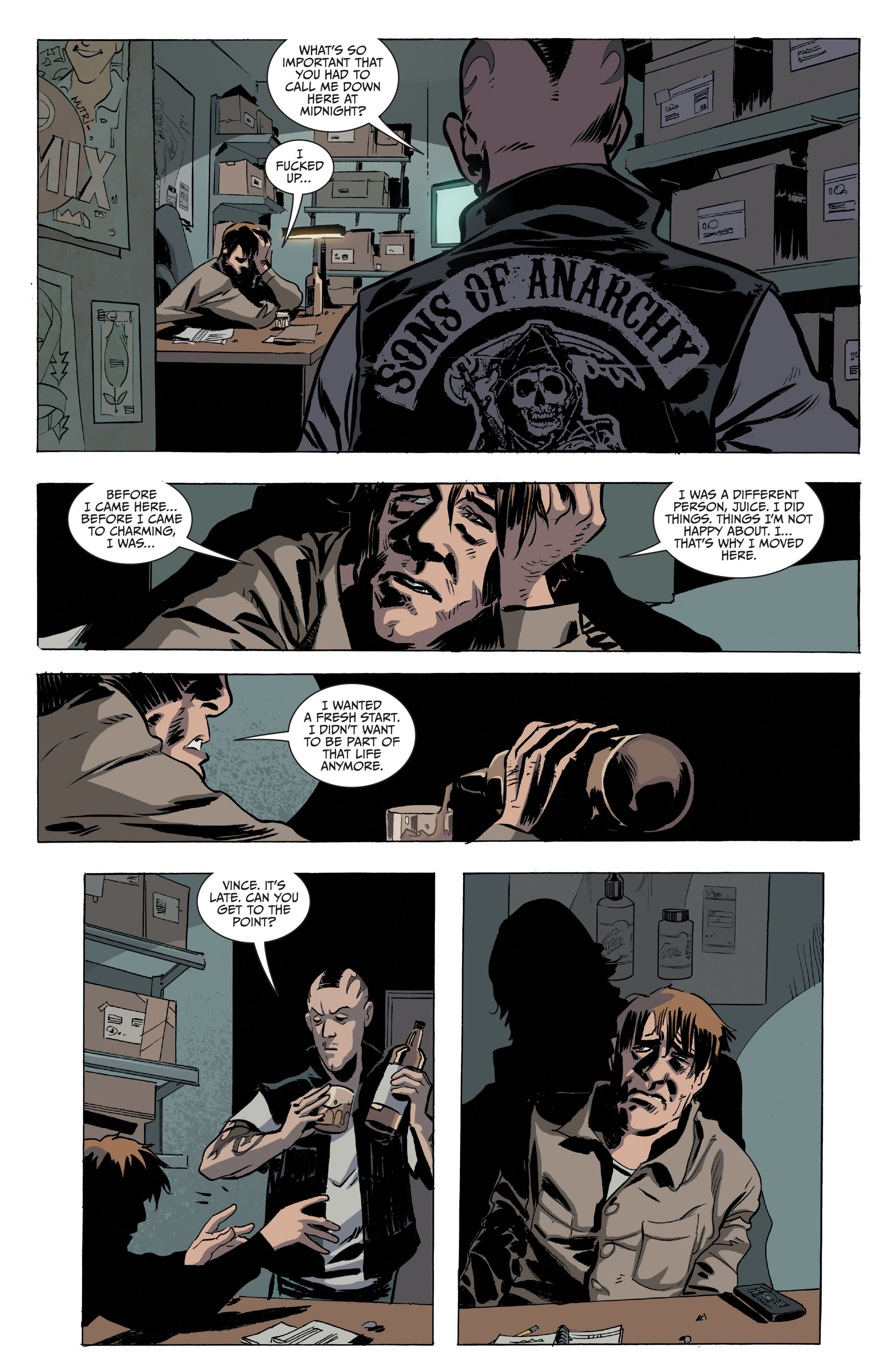 Read online Sons of Anarchy comic -  Issue #16 - 4