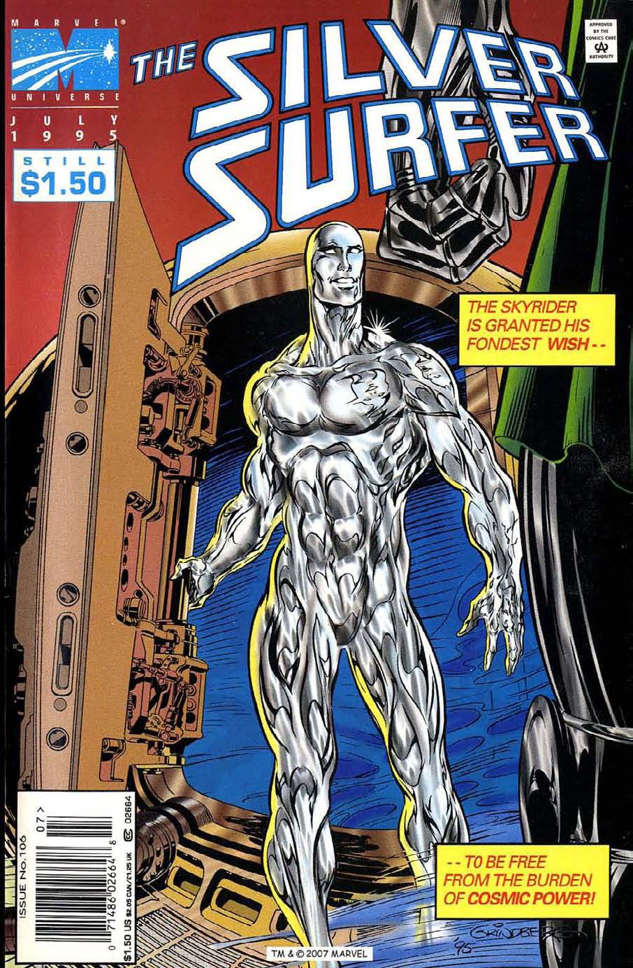 Read online Silver Surfer (1987) comic -  Issue #106 - 1