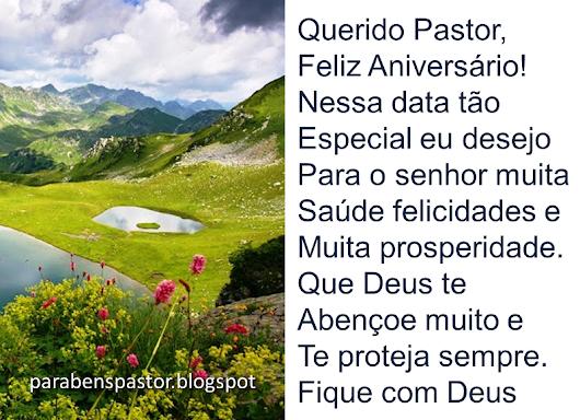 Mensagem De Aniversario Evangelico: Mensagem De Aniversário Para Pastor