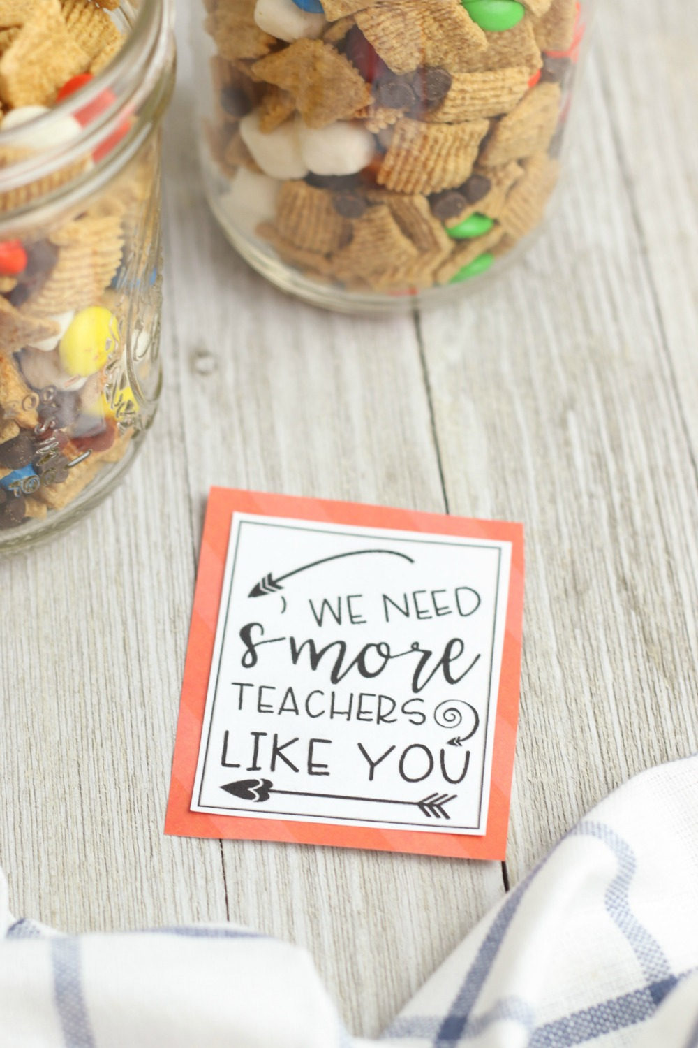 end of the year teacher gift with free printable