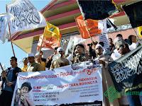 FUIB Sulsel Kutuk Perlakuan Keji Rezim Myanmar atas Muslim Rohingya