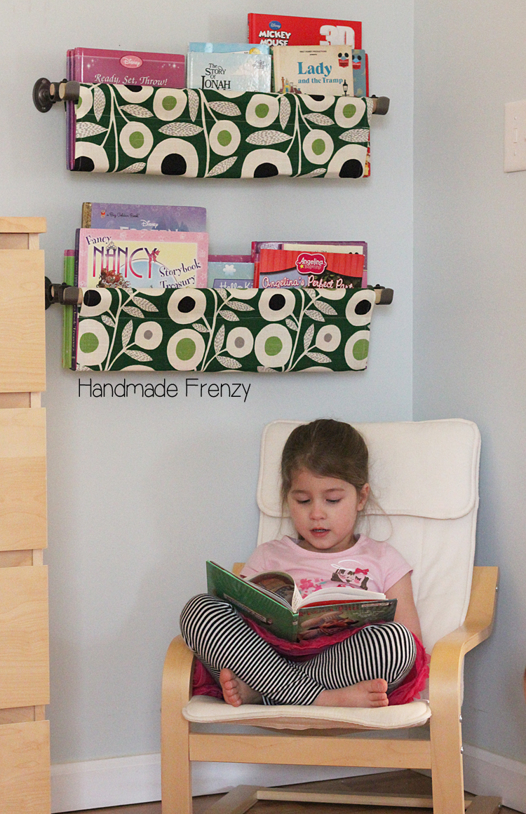 Book Slings // PDF Pattern Review by: Handmade Frenzy