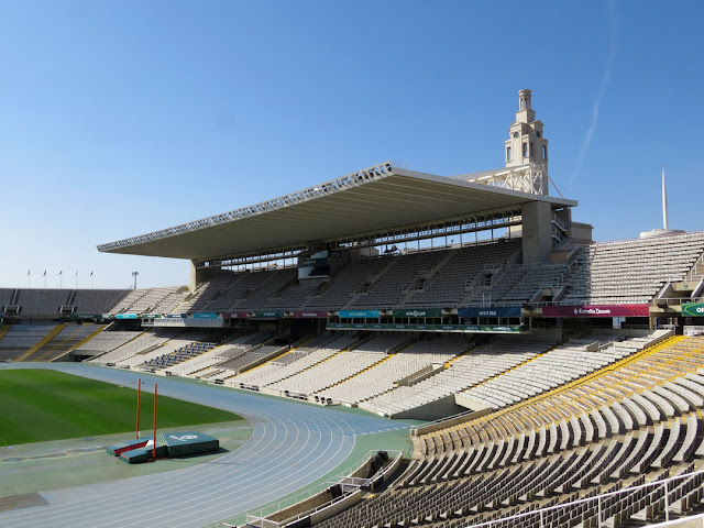 Estadi Olímpic Lluís Companys, Anella Olímpica (Olympic Ring), Passeig Olímpic, Montjuïc, Barcelona