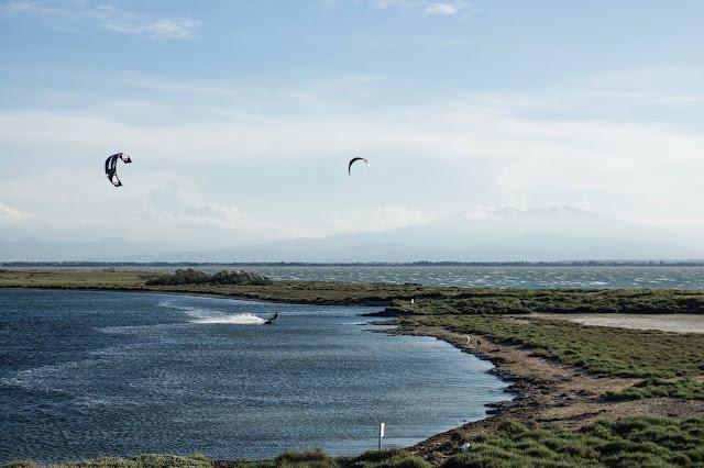Kitesurf au parc des dosses à Barcares - Core kiteboarding