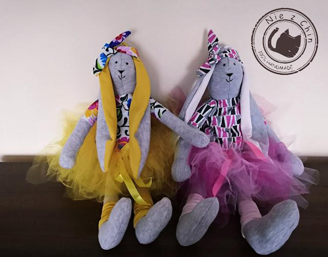 Karolina i Martyna – dwie króliczki baletnice