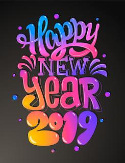 تهنئة ليلة رأس السنة 2019 Happy New Year