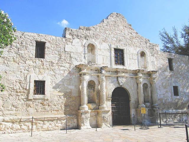 Façade of the Alamo Missions