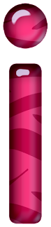 Abecedario Rosa con Textura de Cebra. Pink Alphabet with Zebra Texture.