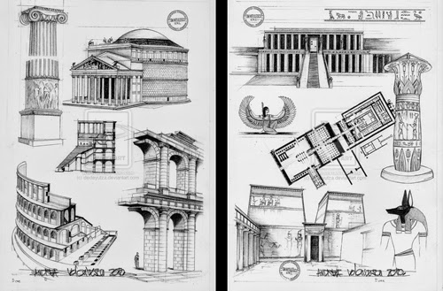 00-Front-Page-Andrea-Voiculescu-Drawings-of-Historic-Architecture-www-designstack-co