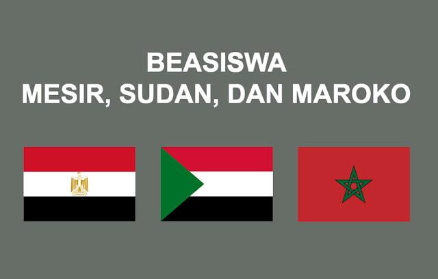 Seleksi S1 Mesir, Sudan, & Maroko 2019-2020 Beasiswa dan Non Beasiswa