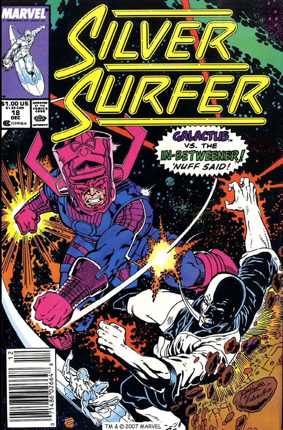 Read online Silver Surfer (1987) comic -  Issue #18 - 1