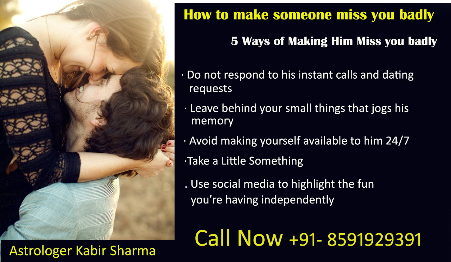 How to Make Someone Miss You foto