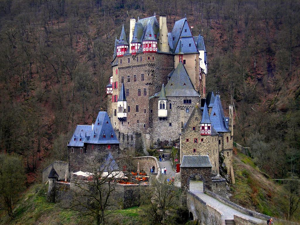 Great Castles Of Europe Eltz Castle
