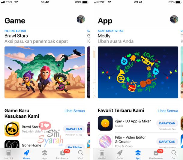 apakah aplikasi iPhone bisa di install di iPhone