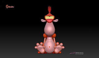 """GaZuZu"" - Character design,Toy & 3D model  © Pierre Rouzier"