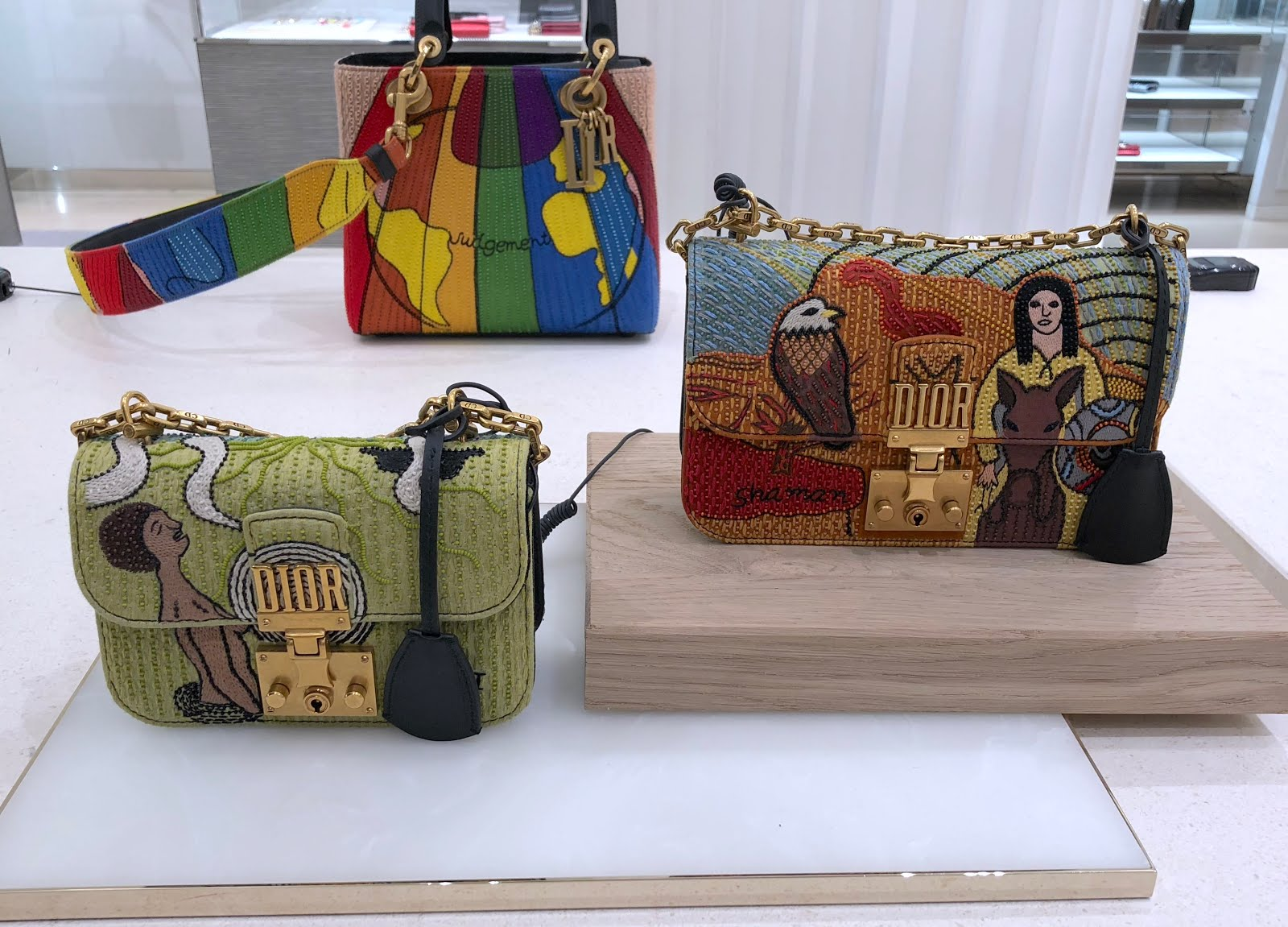 Dior S Motherpeace Inspired Accessories At Selfridges