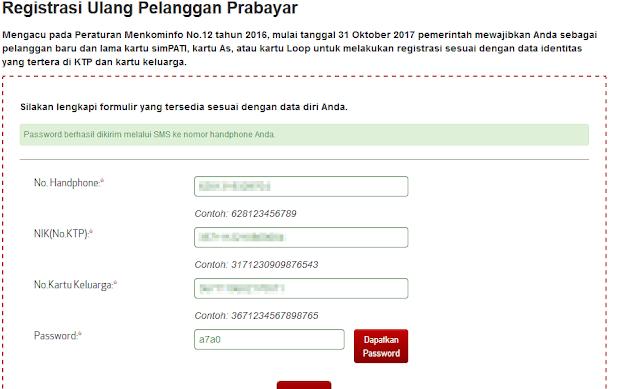 Cara Registrasi Ulang Nomor HP Secara Online Agar Nomor HP Tidak Di Blokir