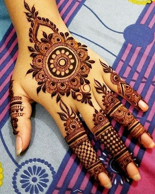 51 Simple Eid Mehndi Designs Images Latest Easy Eid Henna