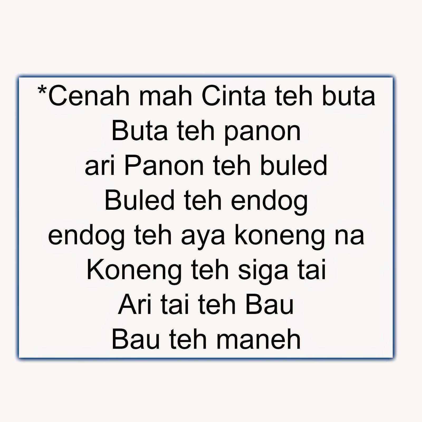 Gambar Lucu Bahasa Sunda