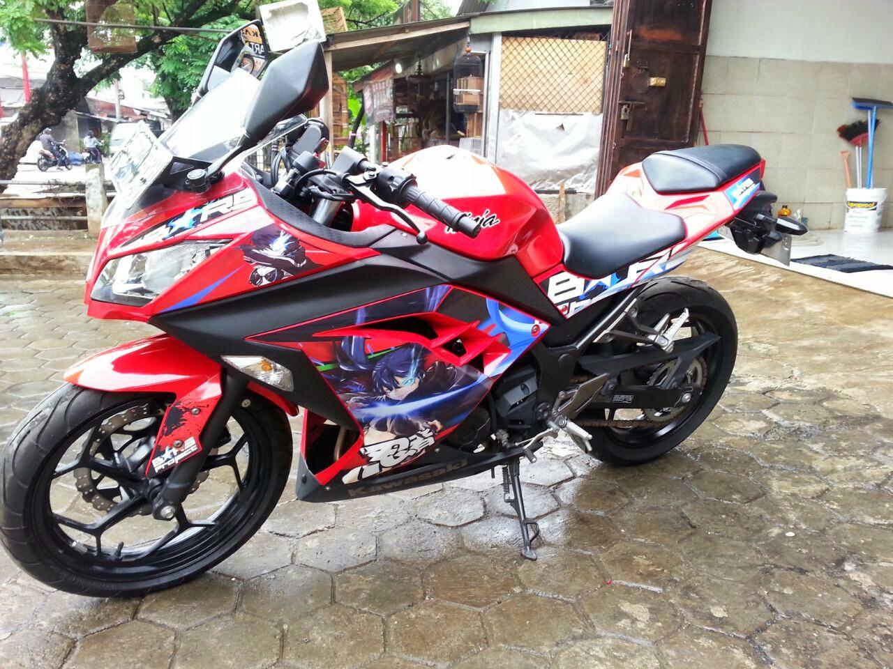 Stock Kawasaki Ninja Showroom Motor Bekas Yogyakarta