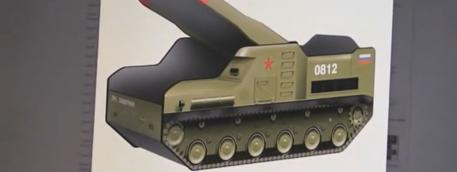 Un lit pour enfant en forme de lance-missile en Russie