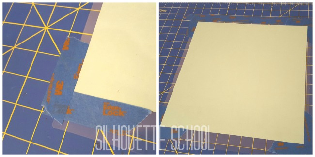Silhouette Cameo, Cricut, Cricut mat, cutting mat, painters tape