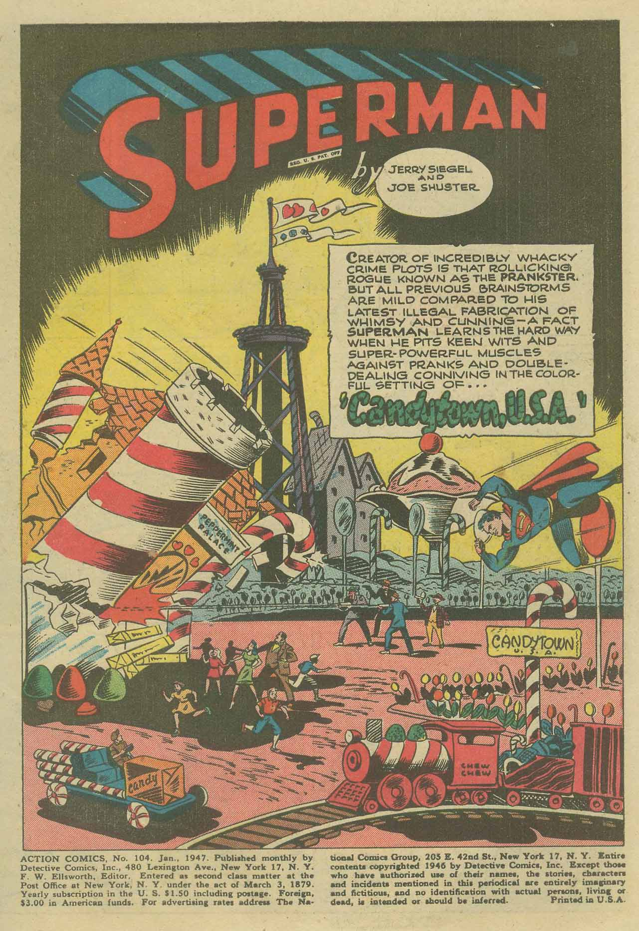 Read online Action Comics (1938) comic -  Issue #104 - 3