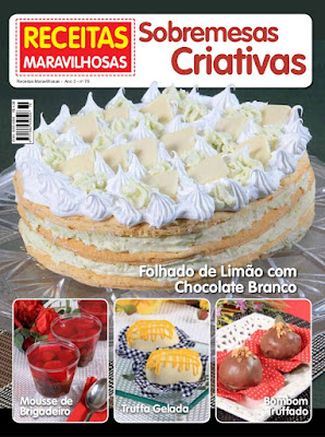 RECEITAS MARAVILHOSAS SOBREMESAS CRIATIVAS