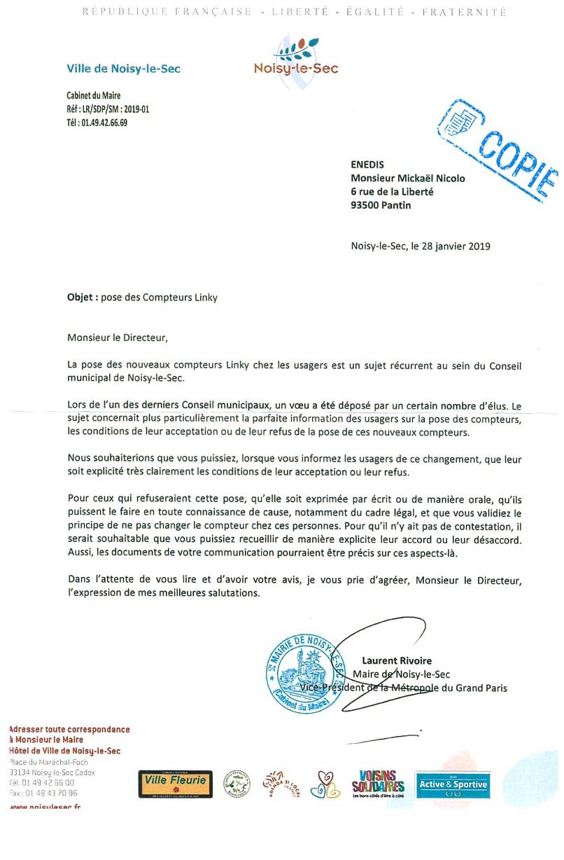 Noisy Le Sec Anti Linky