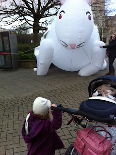 Ahhhh Attack of the Giant Rabbit and Racing Ladies