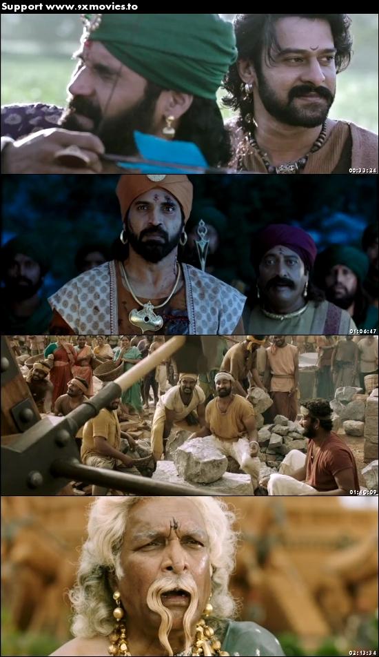 Baahubali 2 The Conclusion 2017 Hindi 720p DVDRip 1.2GB