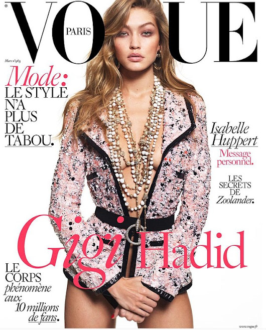 Gigi Hadid Poses Nude for French Vogue!           |            The Beauty Dial