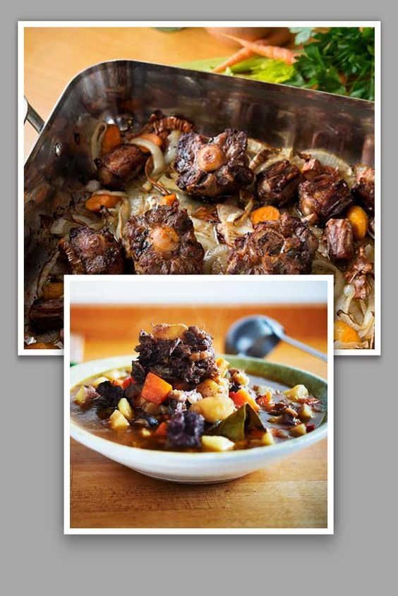 Italian Guazzetto Oxtail Recipe