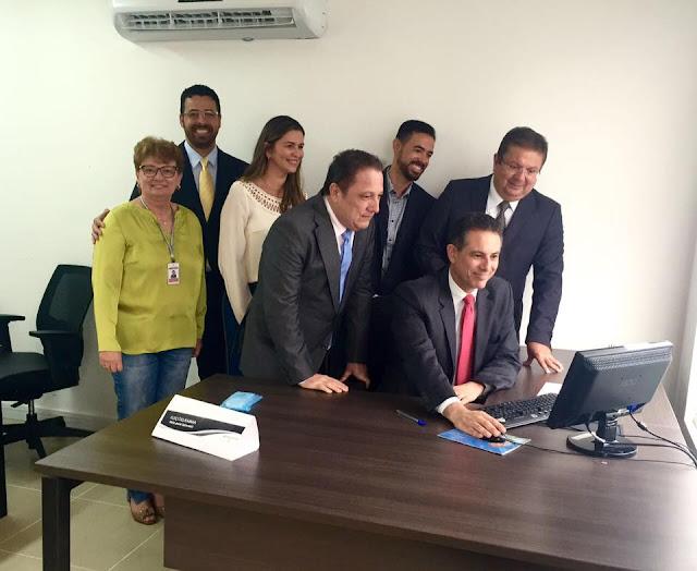 Maior defensor da candidatura do juiz Gervásio para a AMB, presidente do TJMA, Cleones Cunha vota e acompanha a eleição