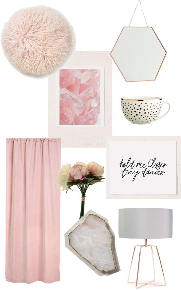 Millenial Blush Pink Homeware UK