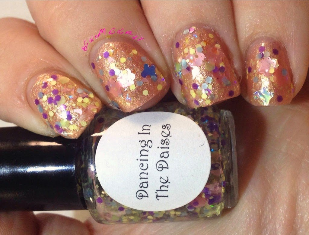 Dancing in the Daisies Lacquer by Lissa