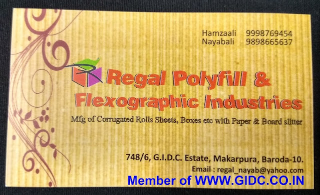 REGAL POLYFILL & FLEXOGRAPHIC INDUSTRIES - 9898665637