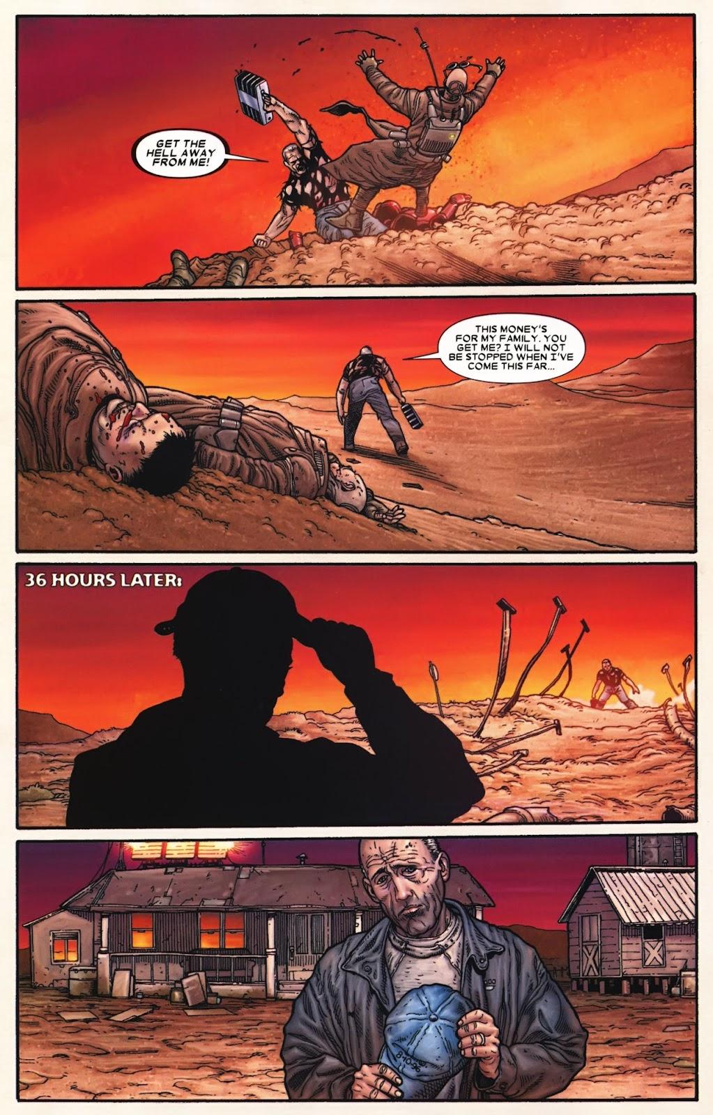 Read online Wolverine (2003) comic -  Issue #72 - 23