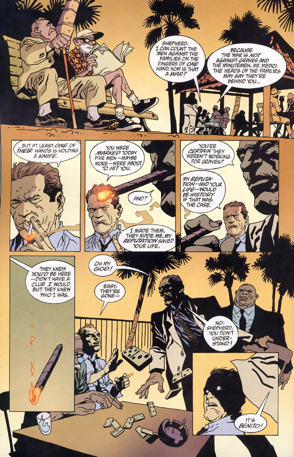 Read online 100 Bullets comic -  Issue #39 - 19
