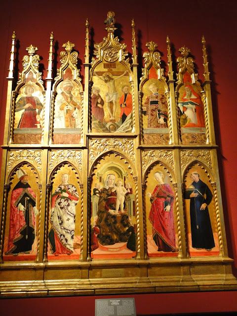 Polípticos da Pinacoteca de Brera