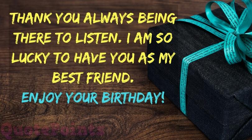 happy birthday to my best friend letter