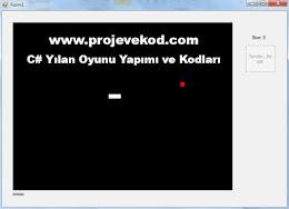 C# Yılan Oyunu Yapımı ve Kodları