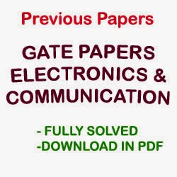 GATE ECE PAPERS   Download Previous Year Solved Question Papers and